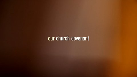 Church Covenant