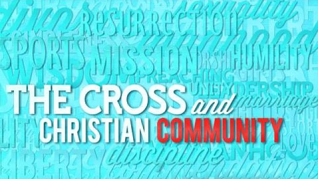The Cross and Christian Generosity